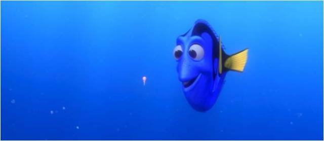 Dory and her squishy, from Finding Nemo.